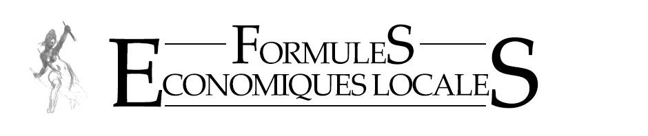 logo formules économiques locales