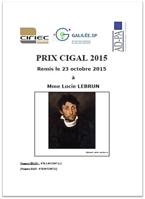 prix cigalades 2015 Lucie Lebrun