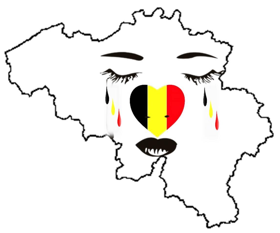 la belgique pleure