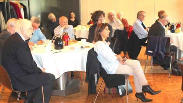 participants petit-déjeuner Galilée.sp