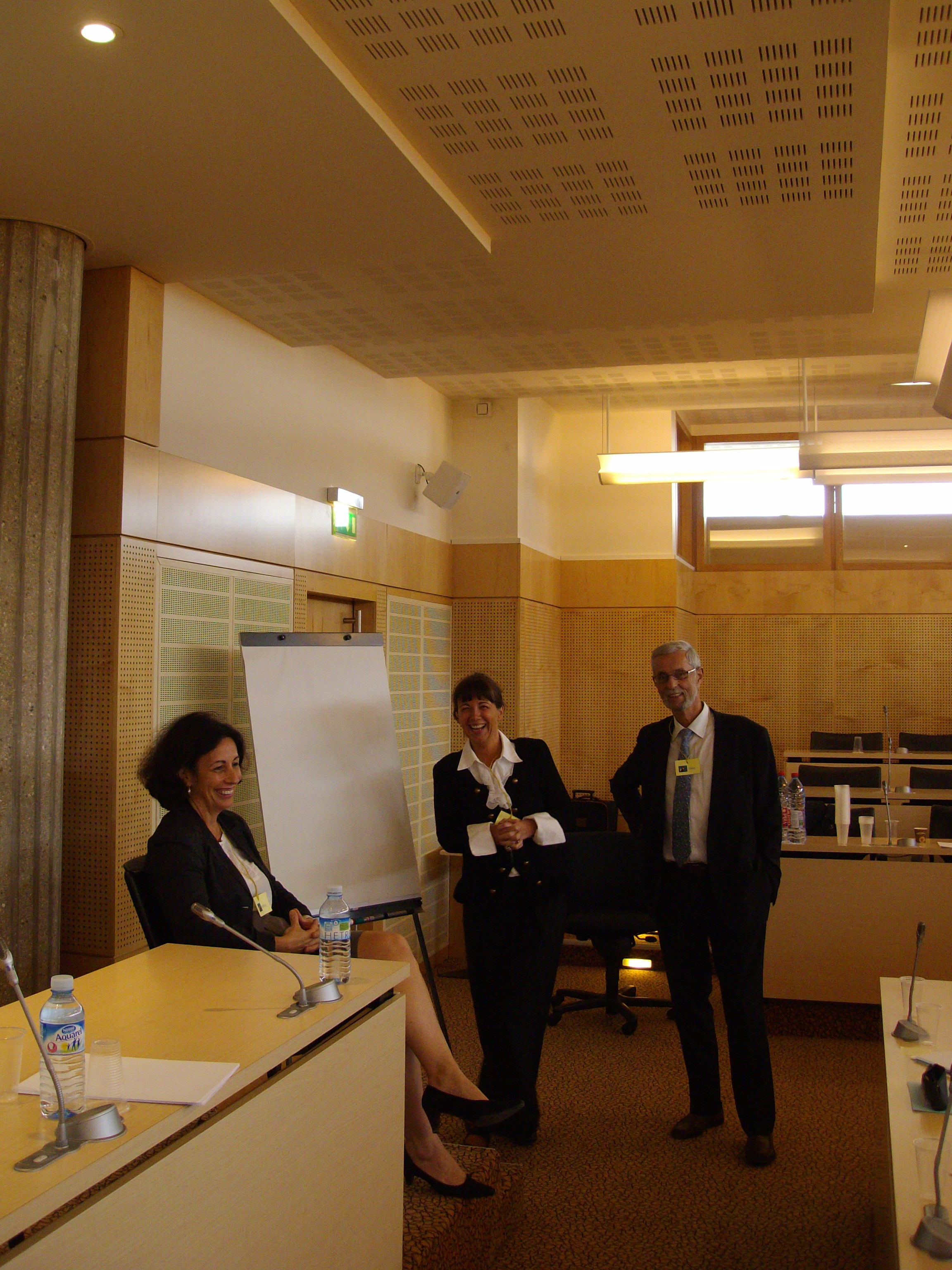 Atelier Coaching: - Isabelle VITTE-BLANCHARD (assise) - Corine NASSOY - Jean-Frédérick LEPERS