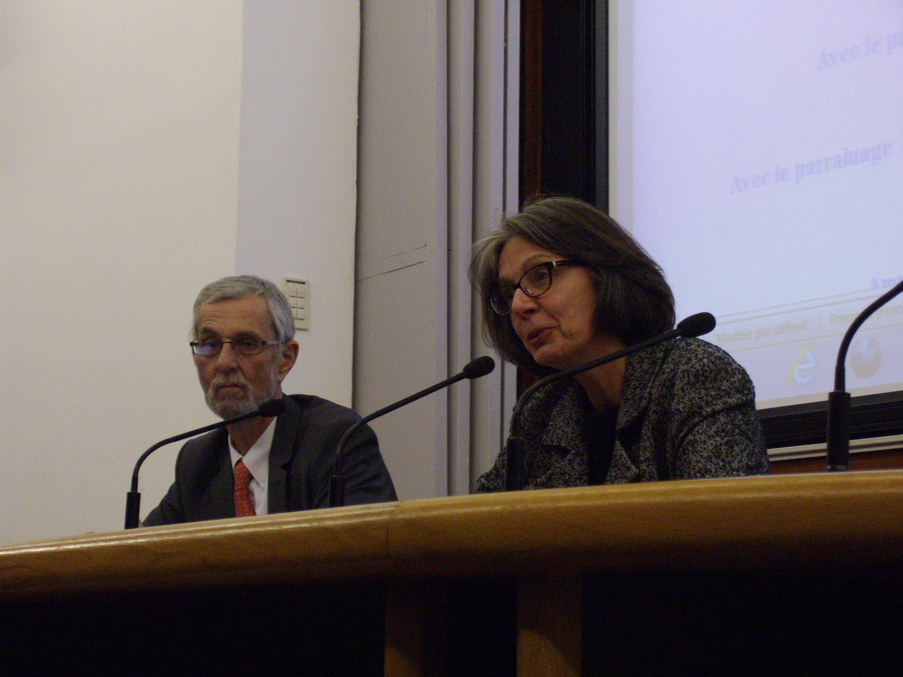 Fin du discours de Catherine Gras, présidente de Galilée.sp