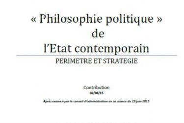 rapport galilée philosophie politique de l'Etat contemporain