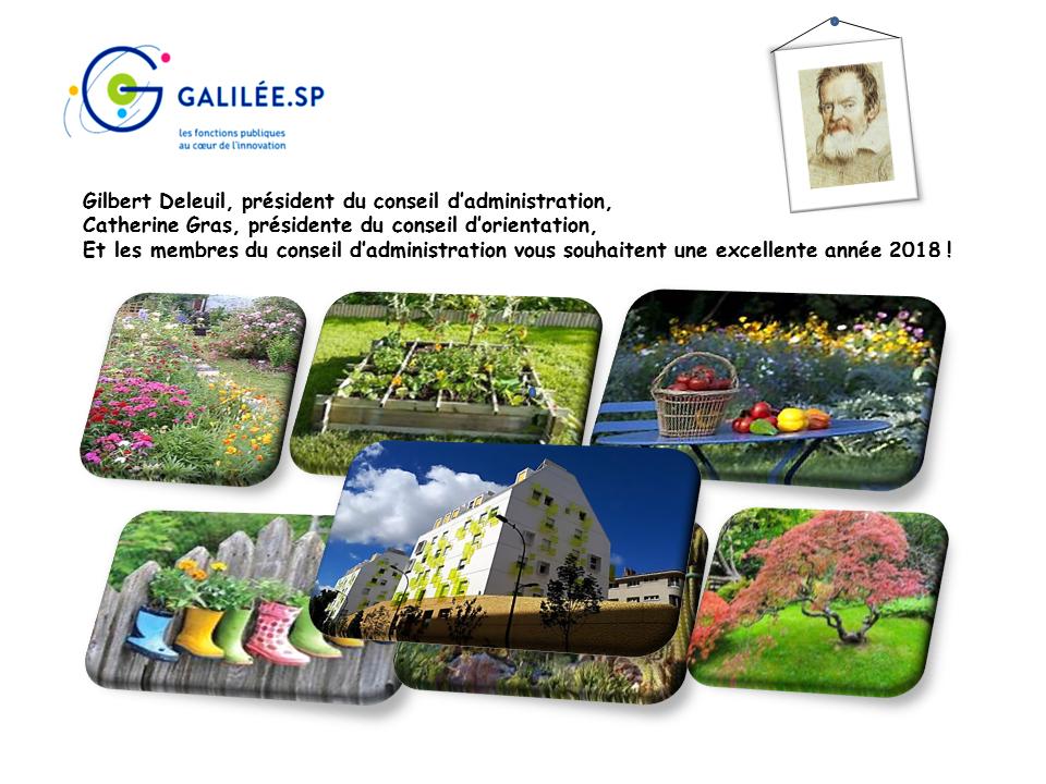 carte voeux galilée 2018