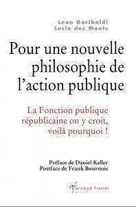 """Couverture """"Pour un nouvelle philosophie de l'action publique"""""""