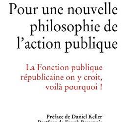 """Couverture """"Pour une nouvelle philosophie de l'action publique"""""""