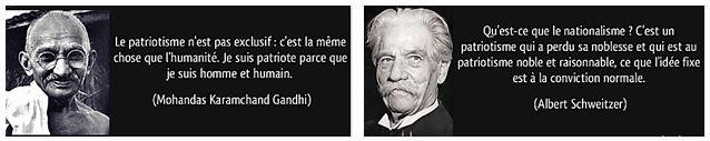 2 citations : Gandhi et Schweitzer