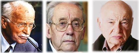 CG Jung, Paul Ricoeur et Edgar Morin