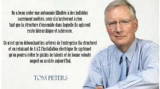 citation Tom Peters
