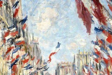 Claude Monet, la rue Montorgueil - détail