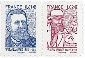Timbres Jean Jaurès