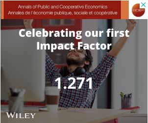 celebrating our first impact factor