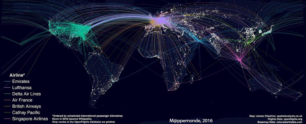 réseau avions